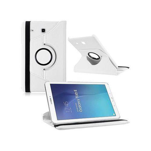Białe etui skórzane PU Stand Cover Galaxy Tab A 9.7 T550 - Biały, kolor Biały