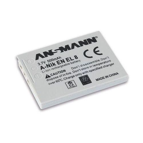 Ansmann Akumulator 500 mah do nikon a-nik en el 8