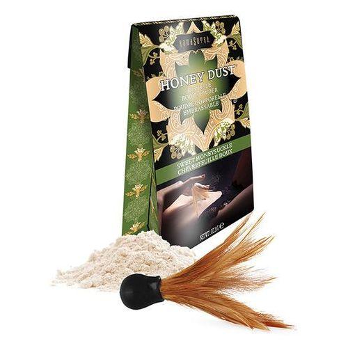 Pyłek do ciała bez talku - pochłaniacz wilgoci ze skóry - honey dust wiciokrzew 28gram marki Kama sutra