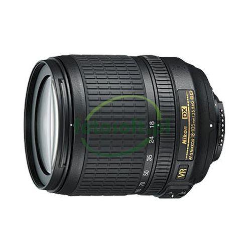 nikkor af-s dx 18-105mm f/3.5-5.6g ed vr - gwarancja nikon polska marki Nikon
