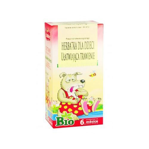Herbatka dla dzieci ułatwiająca trawienie bio od 6 mies. 20 x 1,5 g  od producenta Apotheke