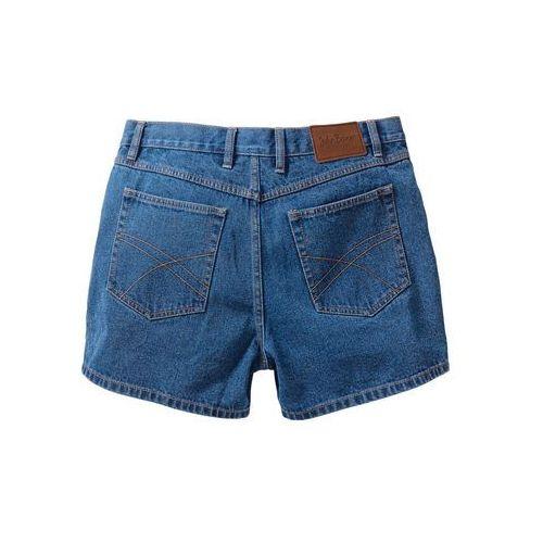 Szorty dżinsowe bonprix niebieski, jeans