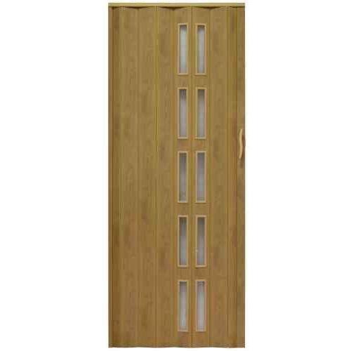 Drzwi harmonijkowe 005s 46 g jasny dąb mat g 100 cm marki Gockowiak