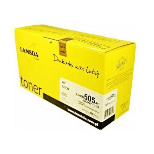 Toner l-hen505ac ce505a czarny darmowy transport marki Lambda