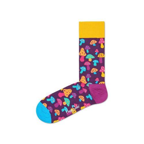 Happy socks shroom 2016 skarpetki fioletowy wielokolorowy 36-40