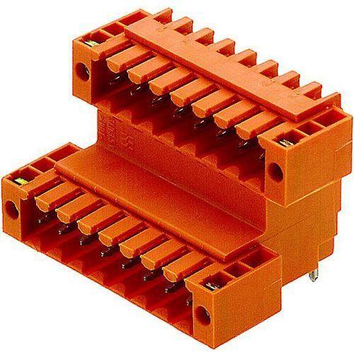 Listwa złączy męskich do wbudowania (standardowa) Ilośc pinów 10 Weidmueller 1890800000 Raster: 3.50 mm 50 szt.