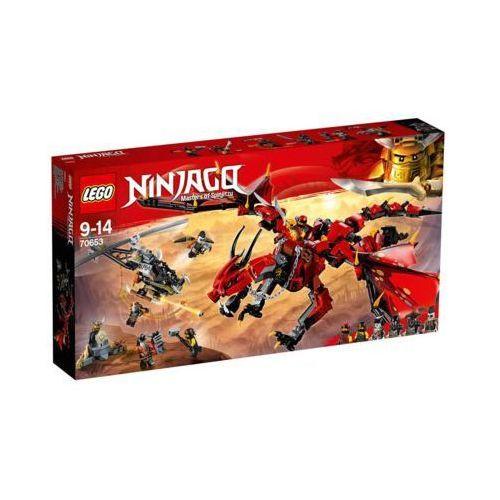 70653 FIRSTBOURNE (Firstbourne) KLOCKI LEGO NINJAGO. Najniższe ceny, najlepsze promocje w sklepach, opinie.