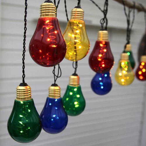 Łańcuch świetlny LED Glow z 10 kolorowymi lampkami (7391482045911)