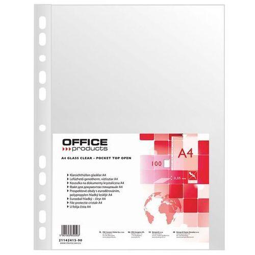 Koszulki OFFICE PRODUCTS A4 cristal folia 50mic (5901503652503)