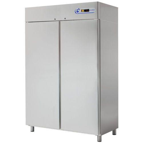 Szafa chłodnicza 1400l, stal nierdzewna 2 ECP-1402