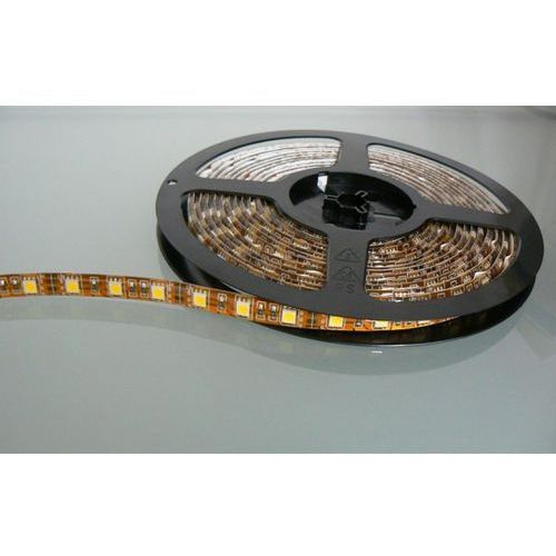 Taśma ledowa 1m smd led strip single color 5050 ip65 12 w/metr, 5050md ww marki Taśmy led