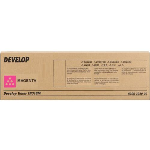 Develop toner Magenta typ TN318, TN-318M, A0DK3D3