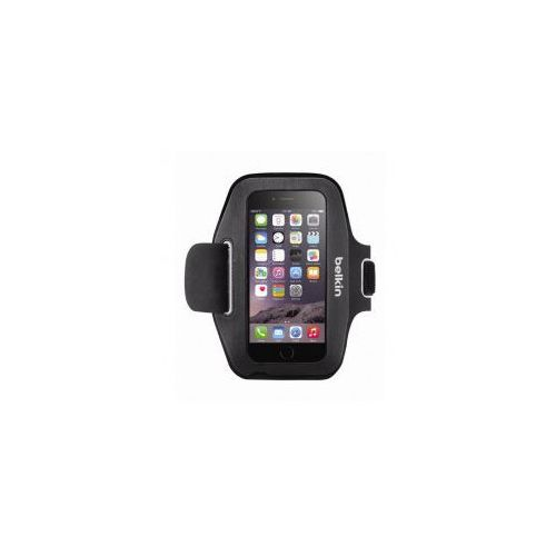 Etui opaska na ramię  sport-fit iphone 6/6s, czarne, marki Belkin