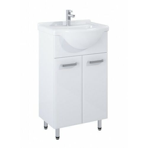 ELITA SET szafka + umywalka Amigo 50 2D white 165409, kolor biały