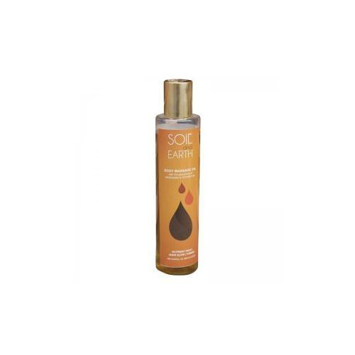 Olejek do Masażu Ciała Mandarynka i Vetiver, 200 ml, Soil & Earth