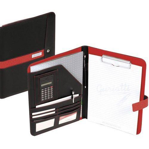 Easy stationery Teczka konferencyjna spokey lugo a5 czarno-czerwony + darmowy transport!