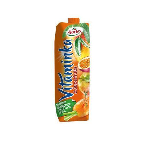 Hortex 1l vitaminka & superfruits mango marakuja marchewka jabłko sok (5900500030185)