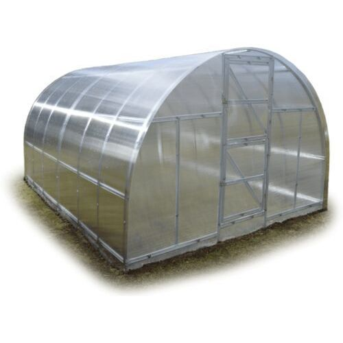 """Tunel szklarnia """"Omega"""" 3x10 z ocynkowanego profilu z poliwęglanem 4 mm"""