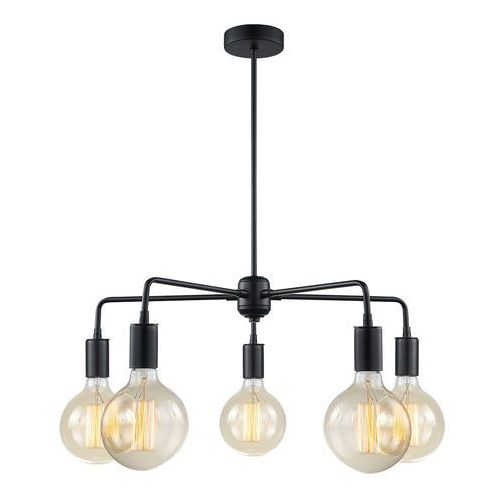 Malene lampa wisząca 5-punktowa MDM3386/5 BK, kolor Czarny