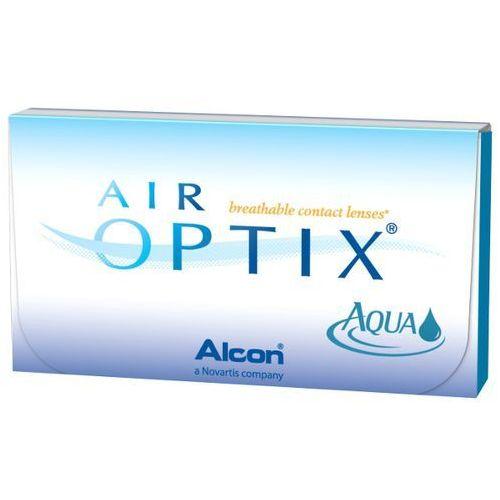 6szt -0,5 soczewki miesięcznie marki Air optix aqua