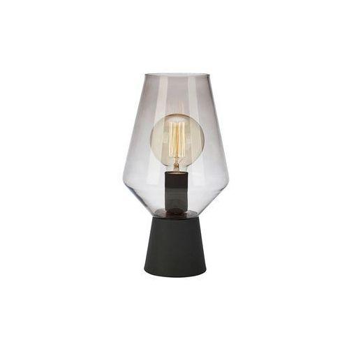 Stojąca LAMPA stołowa RETRO 107131 Markslojd szklana LAMPKA nocna przydymiona