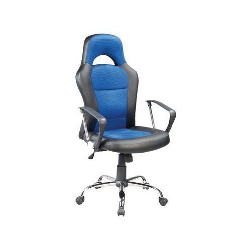 Fotel obrotowy q-033 czarny niebieski marki Signal meble
