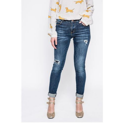 - jeansy curve x marki Guess jeans