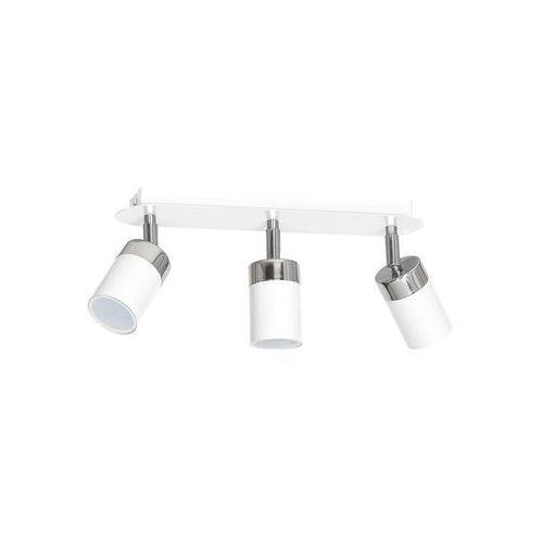 Decoland Oświetlenie punktowe joker 3xgu10/40w/230v biały