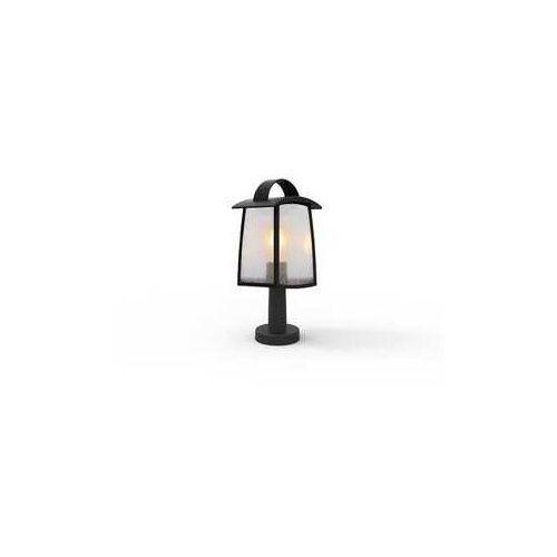 Lutec Kelsey czarny mat wys. 40cm. e27 ip44 lampa ogrodowa stojąca 7273602012 (6939412079400)