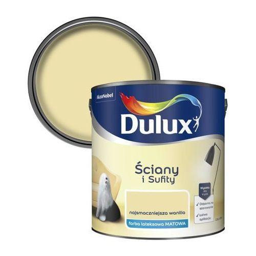 Farba Dulux Ściany i Sufity najsmaczniejsza wanilia 2,5 l (5904078208953)