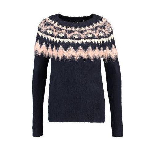 Vero Moda VMALBANY Sweter navy blazer/eggnog/rosecloud, 10183179