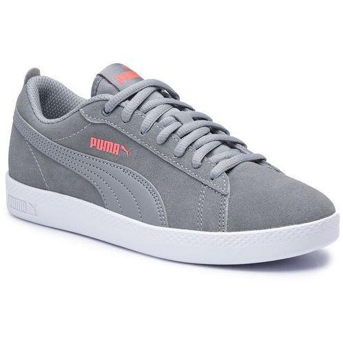 Sneakersy PUMA - Smash Wns V2 Sd 365313 19 Tradewinds Pink/Alert/White