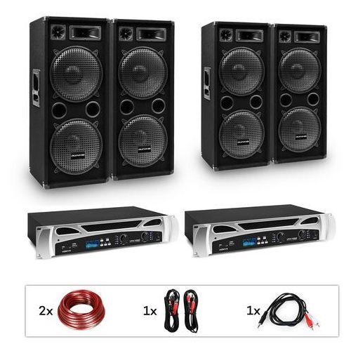 """Electronic-Star eStar, Bangkok Rhythm Pro, zestaw DJ, 2 x wzmacniacz PA, 2x500W, 4xsubwoofer, 2x12"""""""