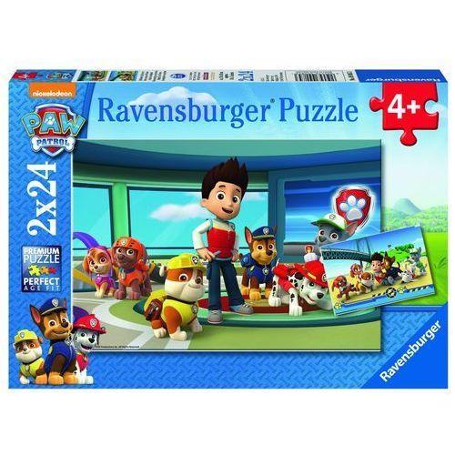 Ravensburger Puzzle psi patrol prubble i przyjaciele 2x24 -