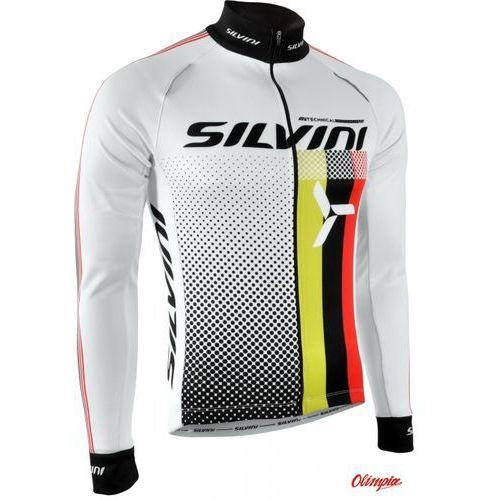 Koszulka ocieplana męska SILVINI TEAM MD833 biały