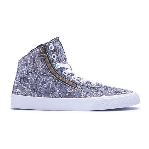 Buty - womens cuttler grey/pattern-white (gpa) rozmiar: 37.5, Supra