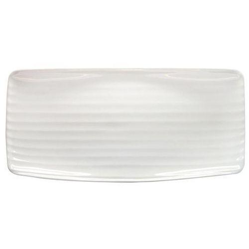 Talerz płytki prostokątny 300 x 150 mm | ARIANE, Artisan Ivory