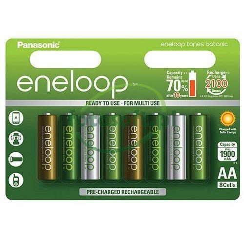 8 x akumulatorki Panasonic Eneloop Tones Botanic R6/AA 2000mAh (blister) (5410853060833)