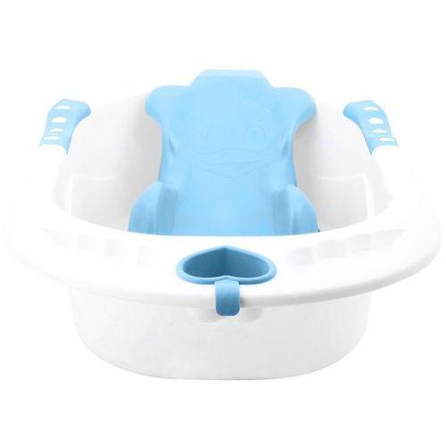 Wanienka z siedziskiem niebieska 83 x 50 x 23 cm KINDERSAFE 303 - Niebieski (5902921960669)