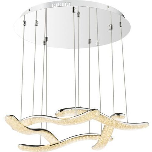 Lampa wisząca nabro 67833-60h lampa sufitowa zwis 1x60w led chrom marki Globo