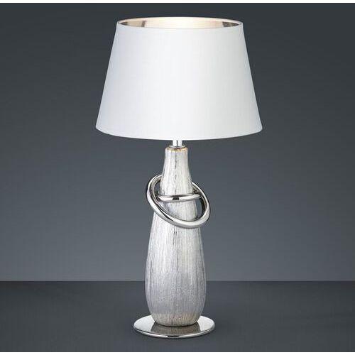 Reality Thebes Lampa stołowa Srebrny, 1-punktowy - Nowoczesny - Obszar wewnętrzny - THEBES - Czas dostawy: od 4-8 dni roboczych