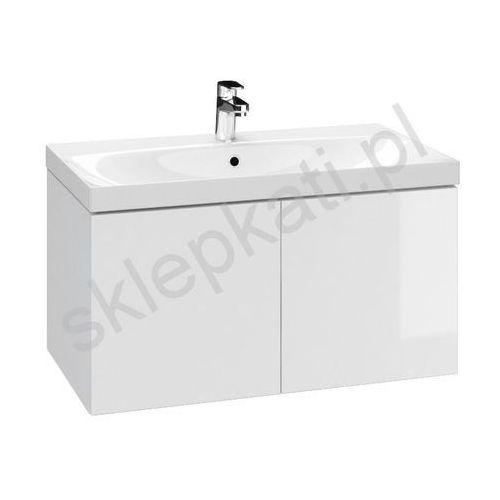 CERSANIT COLOUR Szafka podumywalkowa 80, biała S571-022, kolor biały