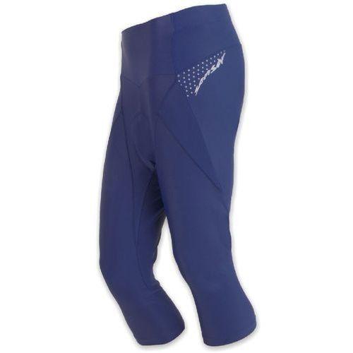 Sensor damskie spodnie rowerowe z nogawkami 3/4 cyklo race blue (8592837041520)