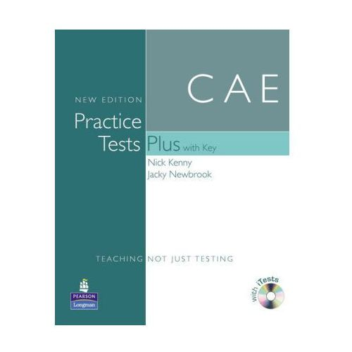 CAE Practice Tests Plus New Edition with Key plus iTest CD-ROM plus Audio CD (2008)