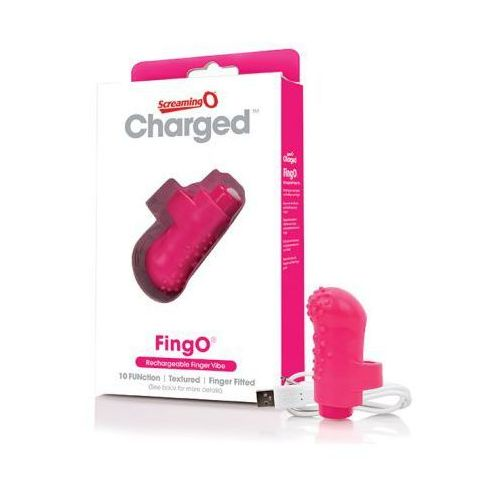 The screaming o Wibrator na palec - charged fingo finger vibe pink