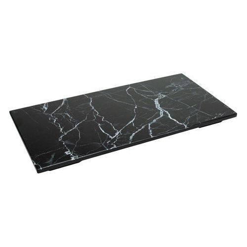 Panel gn 1/3 z melaminy czarny marmur marki Verlo