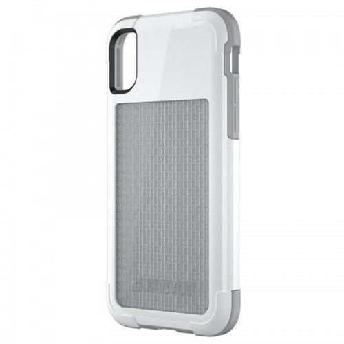 Griffin Survivor Fit - Pancerne etui iPhone X (biały/szary), kolor szary