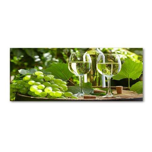 Wallmuralia.pl Foto obraz akryl białe wino i owoce