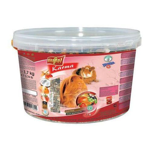 VITAPOL pokarm owocowy dla świnki morskiej wiaderko 1.7kg