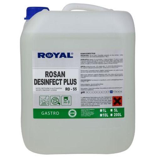 Płyn do dezynfekcji maszyn do lodów i śmietany rosan desinfect plus 5 l marki Royal